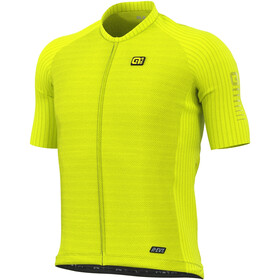 Alé Cycling R-EV1 Silver Cooling SS Jersey Men, fluo yellow